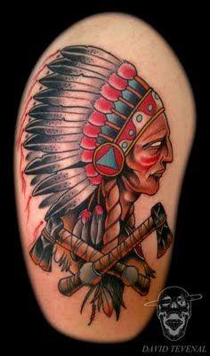 Apache Tattoo. | tattoos | Tattoos
