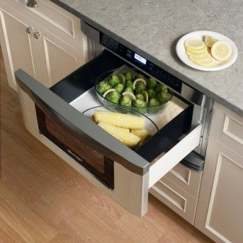 Looking For A Way To Make The Most Of E In Your Kitchen Innovative New Microwave Drawer From Sharp May Be Exactly What You Need Combine