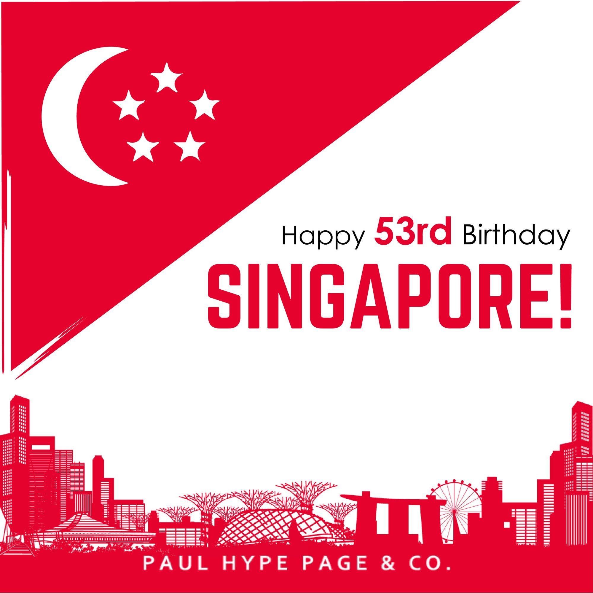 Today Singapore celebrates its 53rd National Day! We take