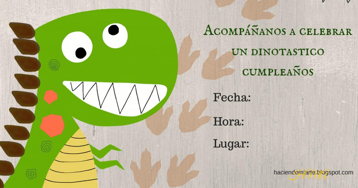 Hma Dino Pdf Invitaciones De Dinosaurios Invitaciones De Cumpleaños Imprimibles Fiesta De Cumpleaños De Dinosaurio