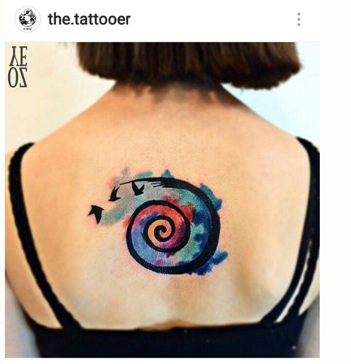 Tattoo Back Tatuaje Espalda Tatuajes De Conchas Tatuaje A Color Tatuajes Espiral