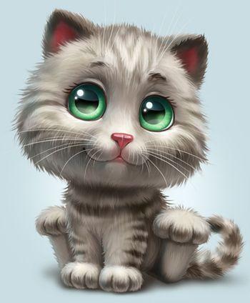 Сharacters by Anna Antracit, via Behance | Cat art, Cat ...