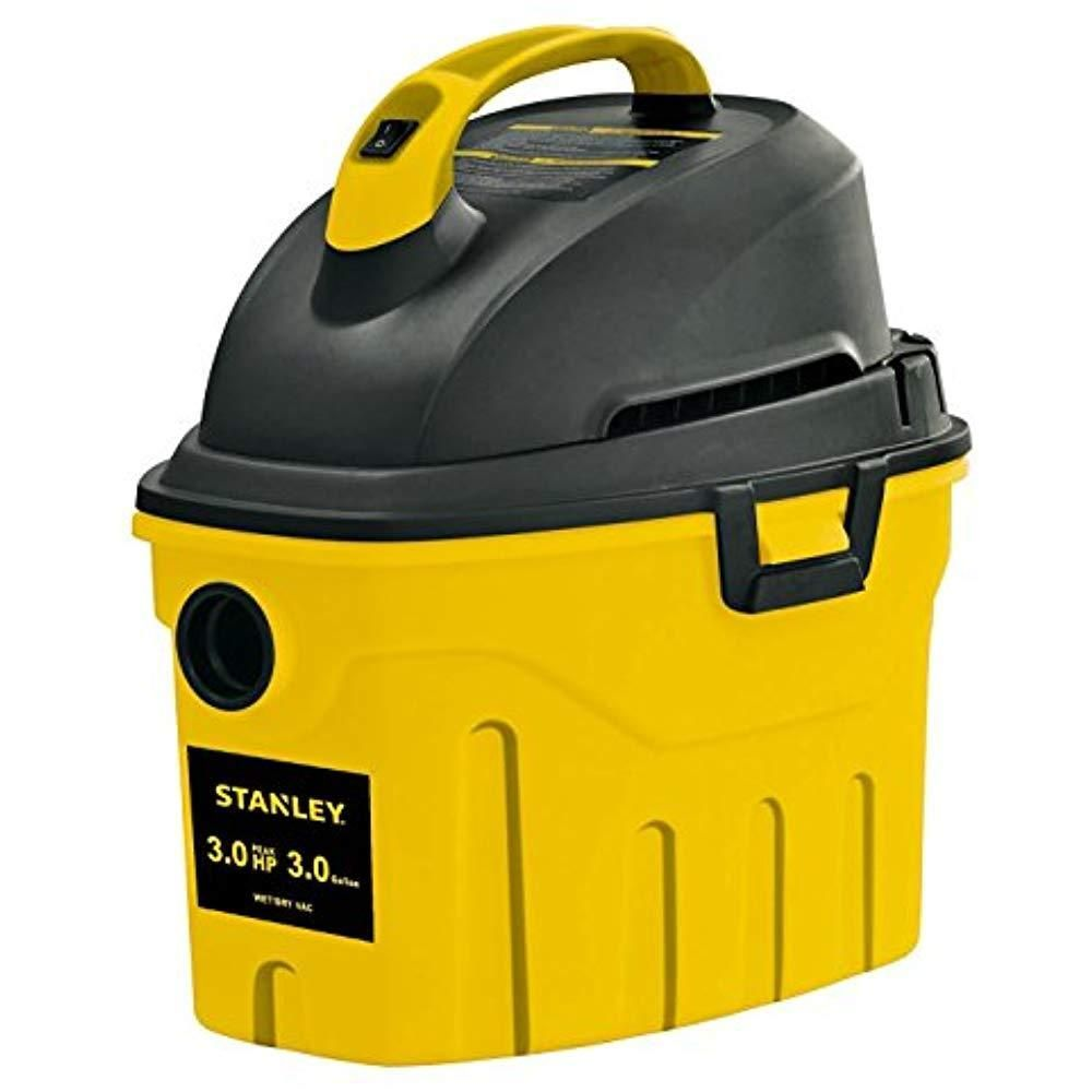 Stanley Wet Dry Vac 3 Gallon Horsepower Powerful and