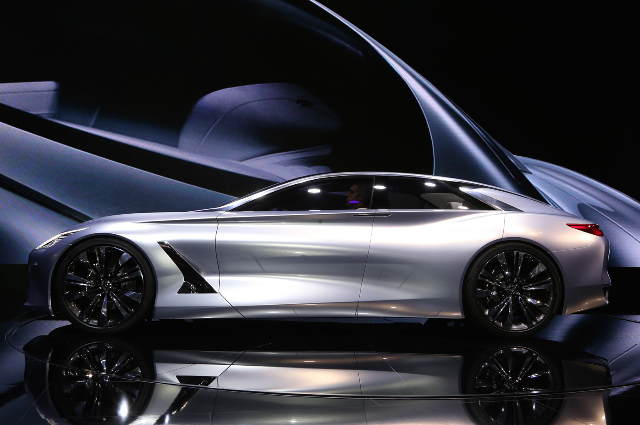 Infiniti Q80 Inspiration Concept First Look Concept Cars