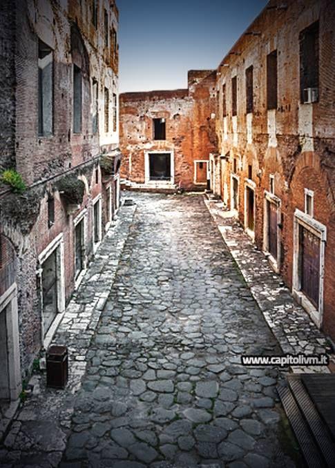 Um passeio pela antiga Via Biberatica no Mercado de Trajano