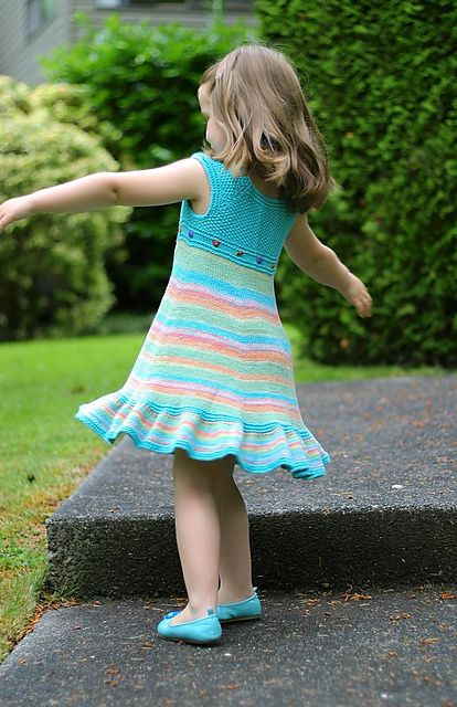 Ravelry: Shades of Summer Dress pattern by Elena Nodel FREE Pattern for babies on up to children