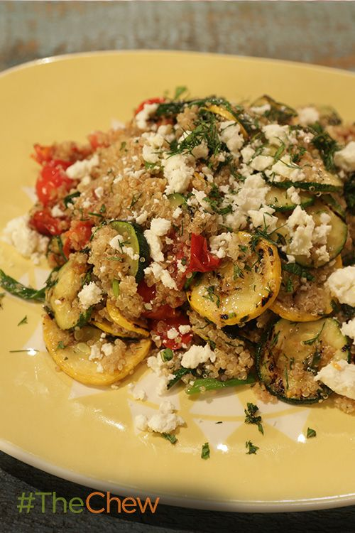 Another great way to dress up your quinoa is with a Grilled Vegetable Quinoa Salad!