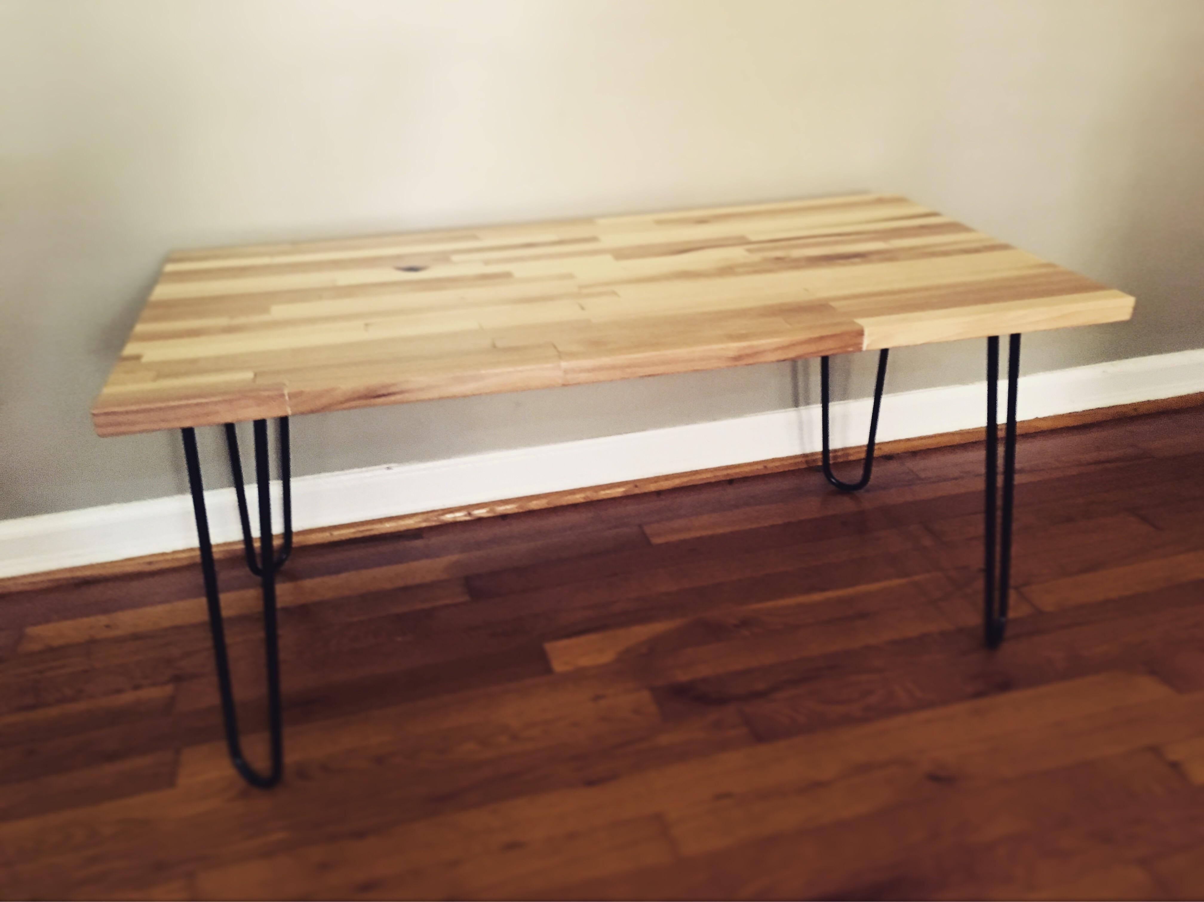 I Made My First Butcher Block Table Httpsifttt
