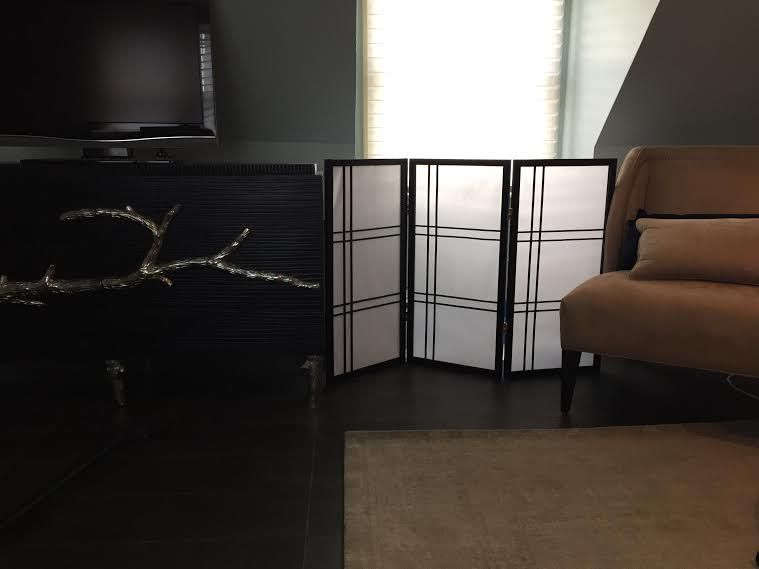 3 Ft Tall Double Cross Shoji Screen More Finishes And Panels In