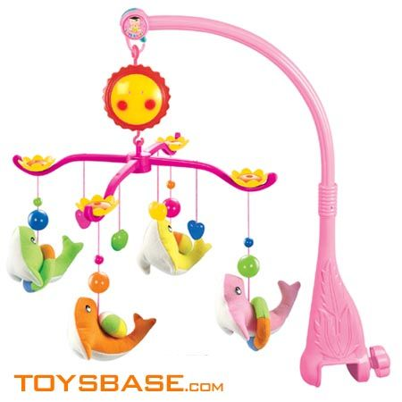 Toys Perfect for Boys Baby Crib Mobile Elephant Girls by i love bub