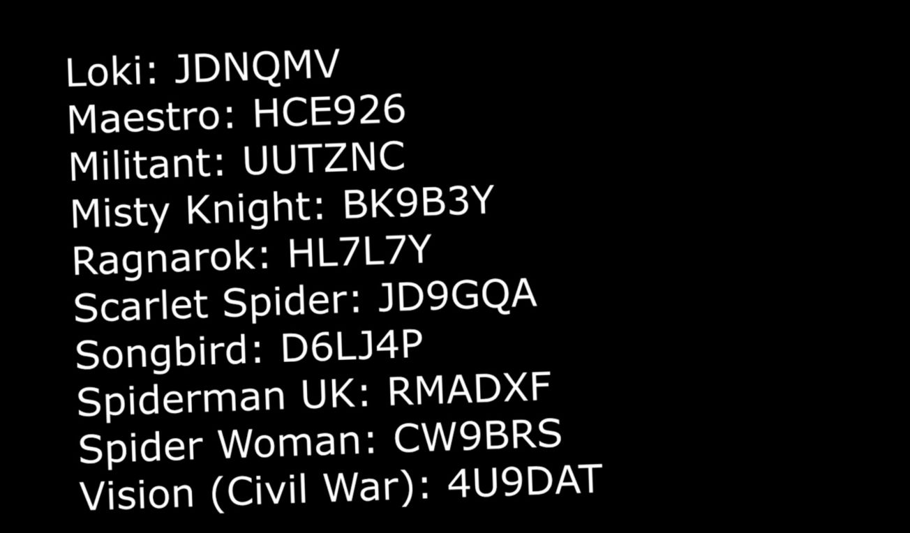 Cheat Codes In Lego Marvel Super Heroes V 2021 G