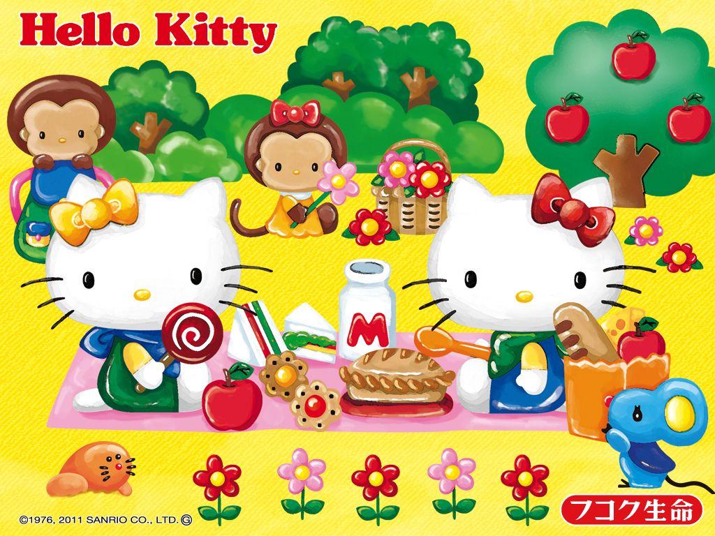 Maries Manor Hello Kitty: Hello Kitty (Sanrio) Wallpaper