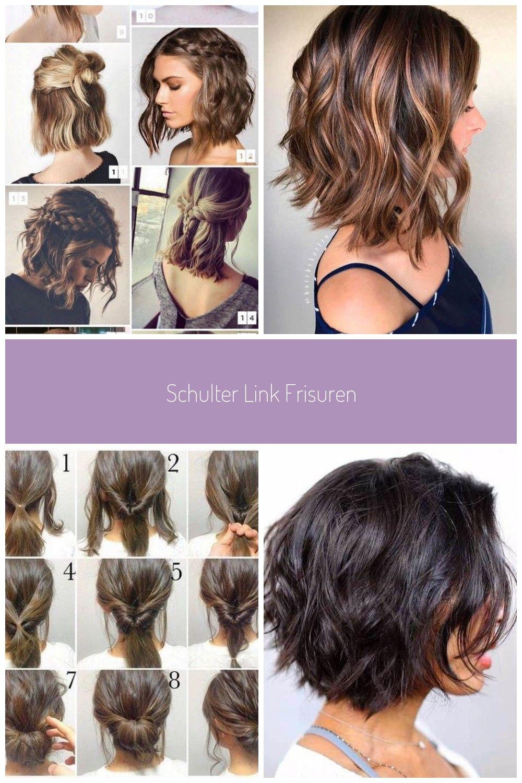 Schulter Link Frisuren Frisuren Schulter Kurze Haarschnitte Locken Schulter Link Frisuren Haarschnitt Kurz Frisur Hochgesteckt Wellige Frisuren