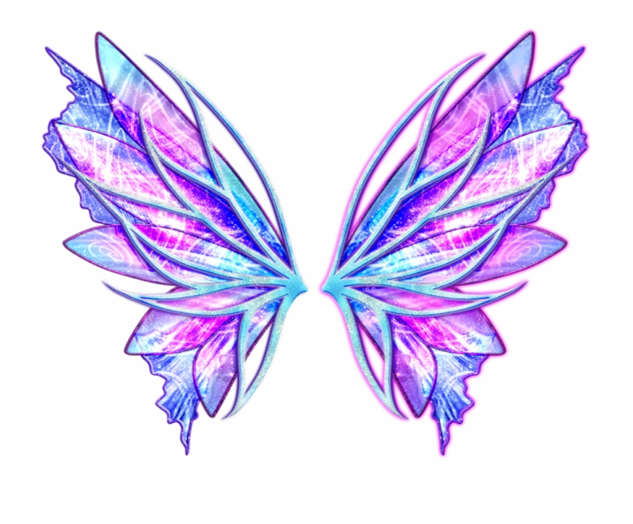 Fairy Fairywings Colorful Colorfulwings Angelwings Colorful Angel Wing Png Transparent Png Image For Free Download Explore M Wings Png Wings Angel Wings Png