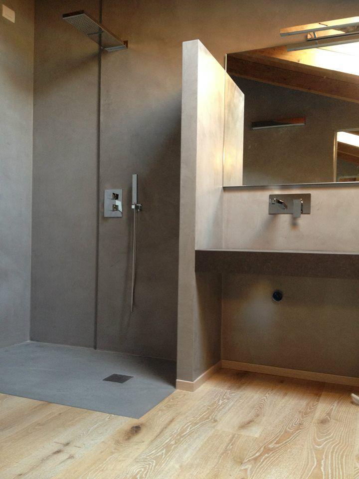 Pavimenti in resina cementizia microcemento sono una alternativa alla resina epossidica o - Pavimenti bagno in resina ...