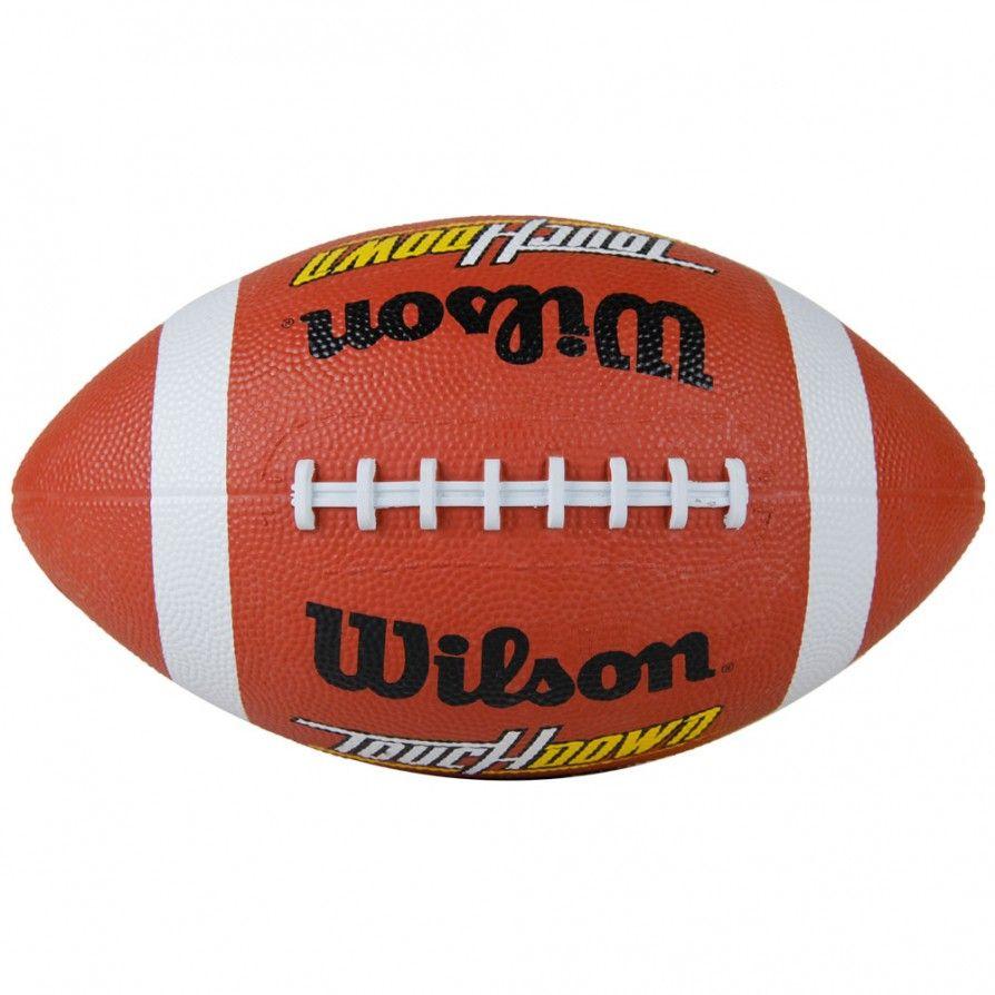 Bola de Futebol Americano Wilson Touchdown Rubber Marrom  eaa1384c8b010