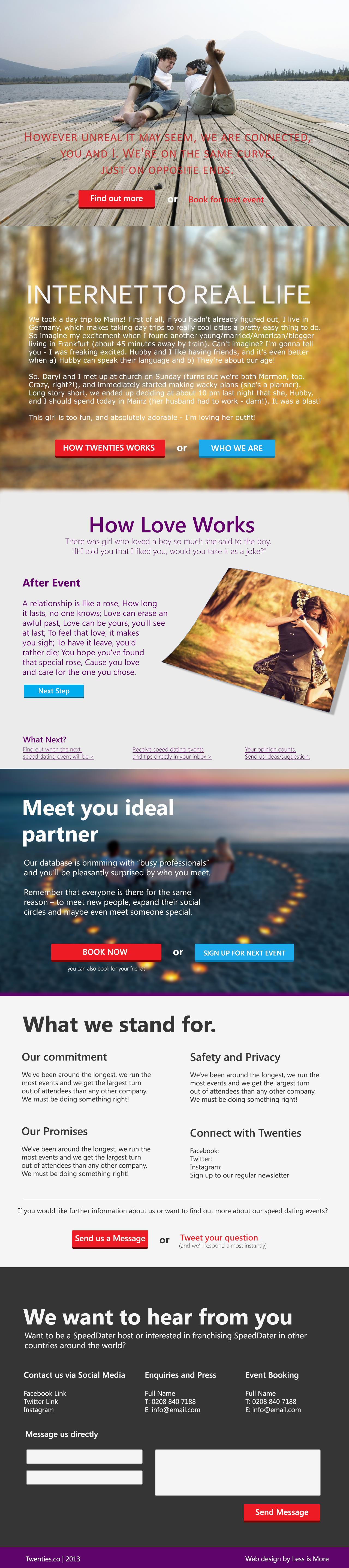 best open line for online dating