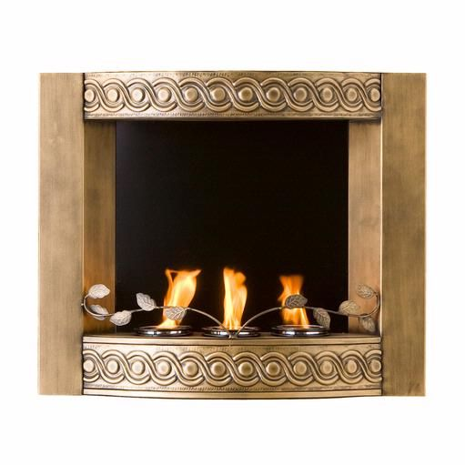 Pin By Home And Stone On Fierce Fireplace Wall Mount Fireplace Fireplace Accessories Gold Walls
