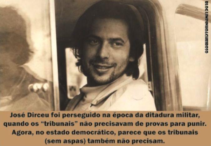 José Dirceu - Não he a primeira vez que serei preso politico.