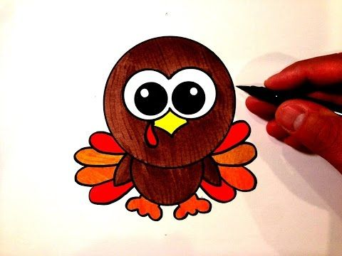 11 How To Draw A Cute Turkey Youtube Thanksgiving Drawings Turkey Drawing Fall Drawings