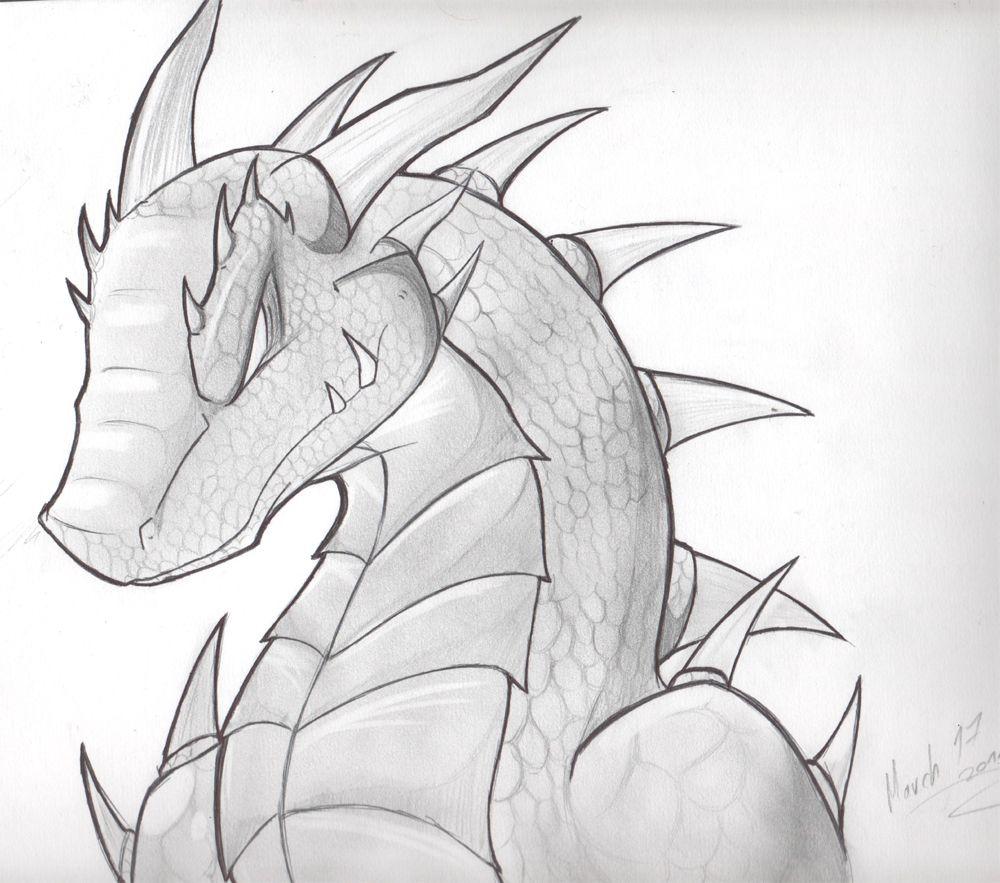Resultado De Imagen Para Dragones A Lapiz Dragones Dibujos Lapiz