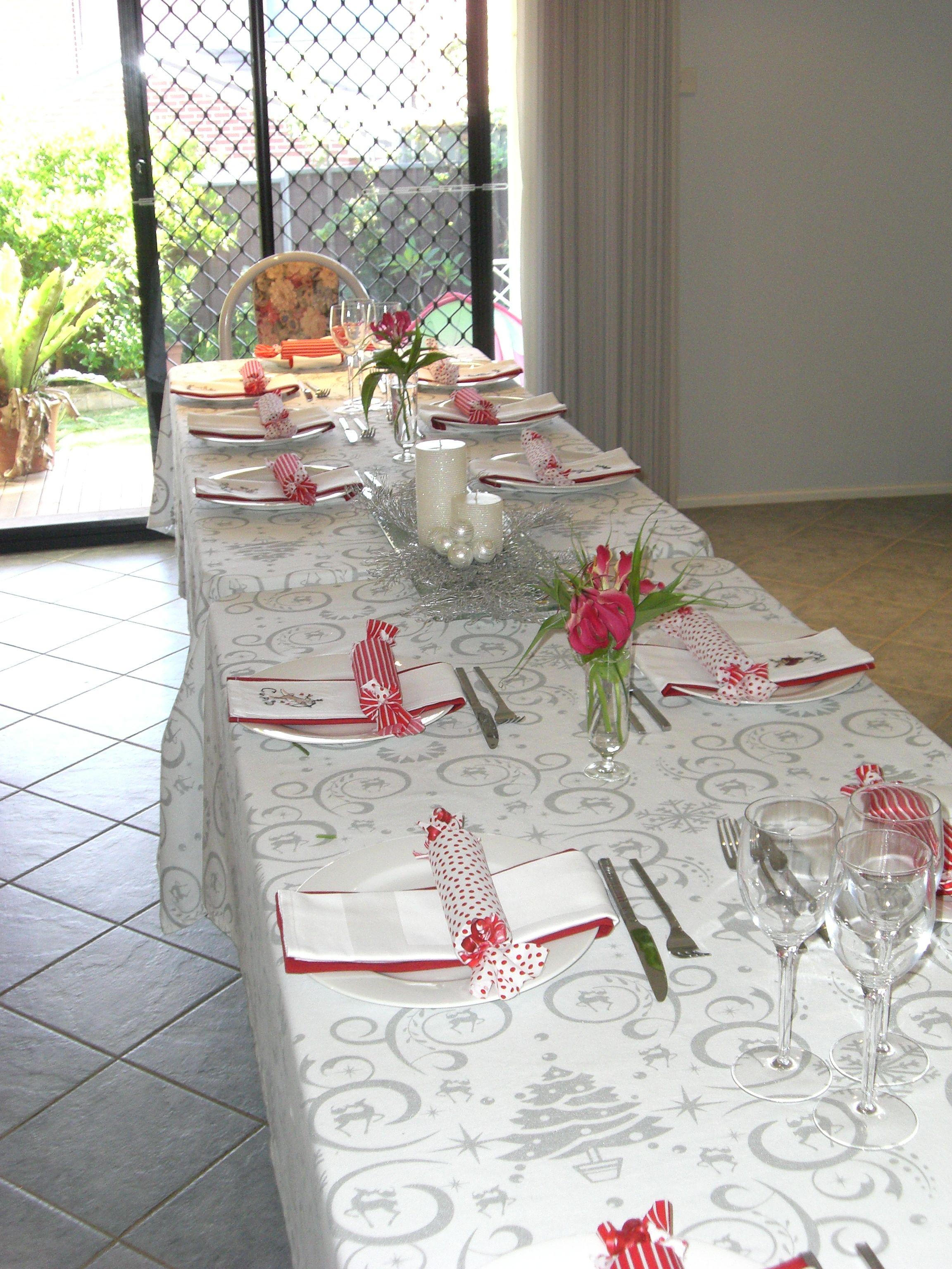 Christmas 2011 Table decorations, Decor, Table