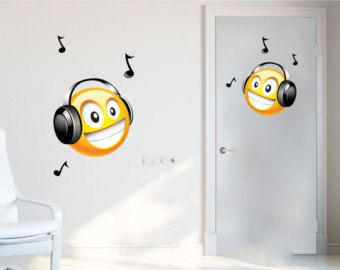 Smiley Decals Emoji Decals Laptop Cover Decal Headphones Wall Decal Smiley Face Wall Art Smiley Face Wall Decals Emoji Stickers n72  sc 1 st  Pinterest & Smiley Decals Emoji Decals Laptop Cover Decal Headphones Wall ...
