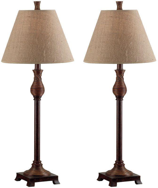 Kenroy Home Santiago 2-pk. Buffet Lamps