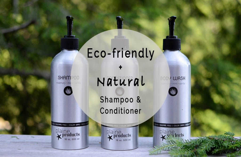 Ecofriendly shampoo review of plaine products organic