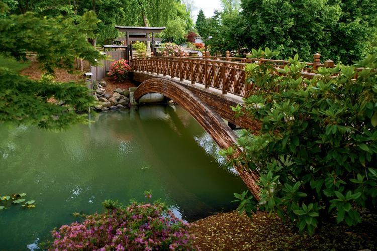 Japanese Garden On Lake Sacajawea In Longview Wa Japanese Garden Beautiful Places To Visit Longview