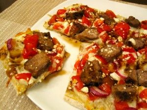 Steak & Balsamic Flatbread | Healthy Today, Healthy Tomorrows!