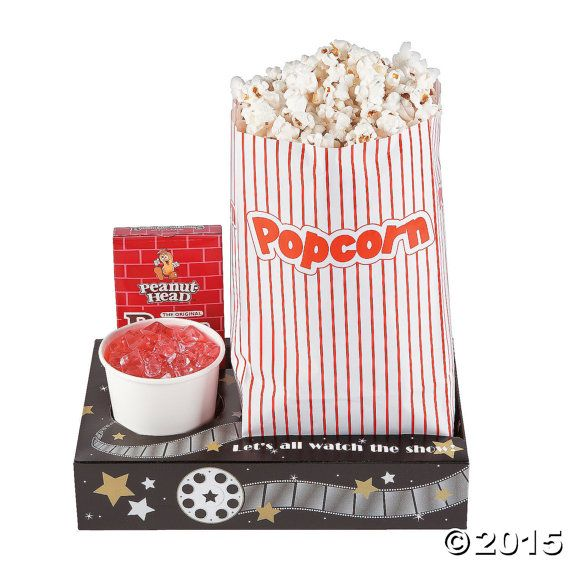 Movie night snack tray (24), concession tray, movie night party, drive in birthday, party supplies, drive in party, snack tray box food tray