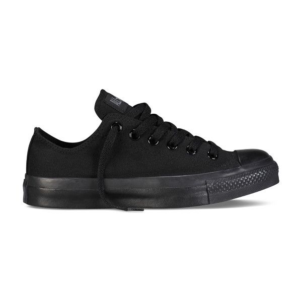 All-Black Chuck Taylor All Star Shoes : Converse Shoes | Converse.com ($50) found on Polyvore