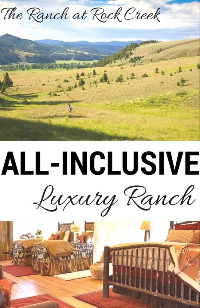 Cheap All Inclusive Family Vacation: The Ranch At Rock Creek–All Inclusive Ranch Vacation In