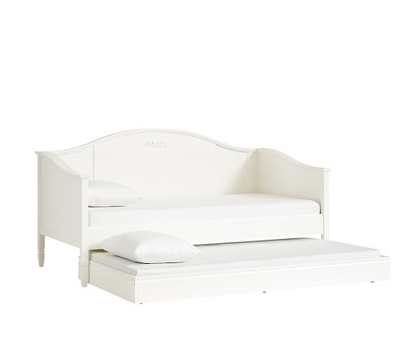 Madeline Daybed Simply White Pottery Barn Kids Kids Daybed