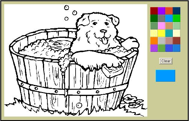 Online Coloring Coloring Pages Animal Coloring Pages Animal Coloring Books
