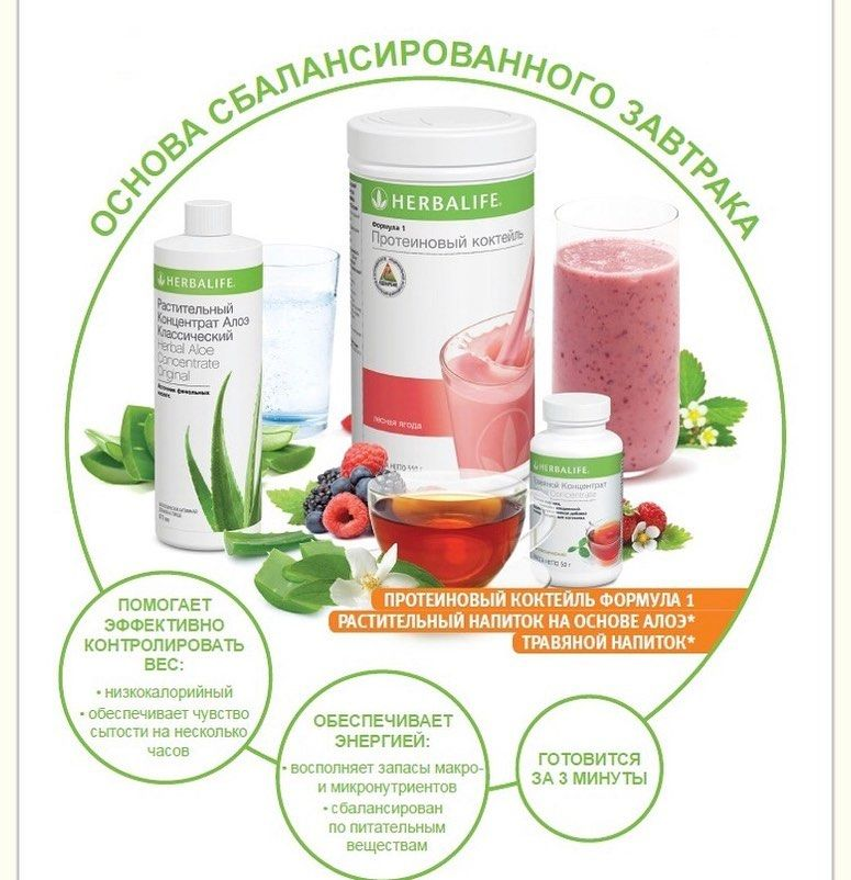 Система похудения гербалайф