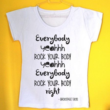 c534676c43 Camiseta Feminina | BSB concert in August | Backstreet boys shirts ...