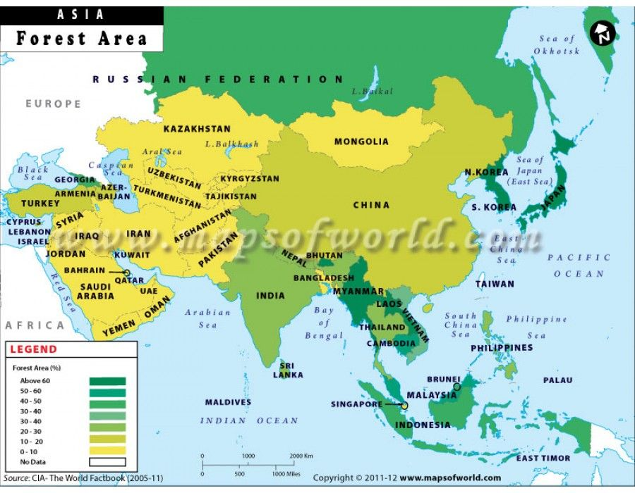 Asia #map highlights the Asian countries with their rivers, capitals - best of world map with countries and continents