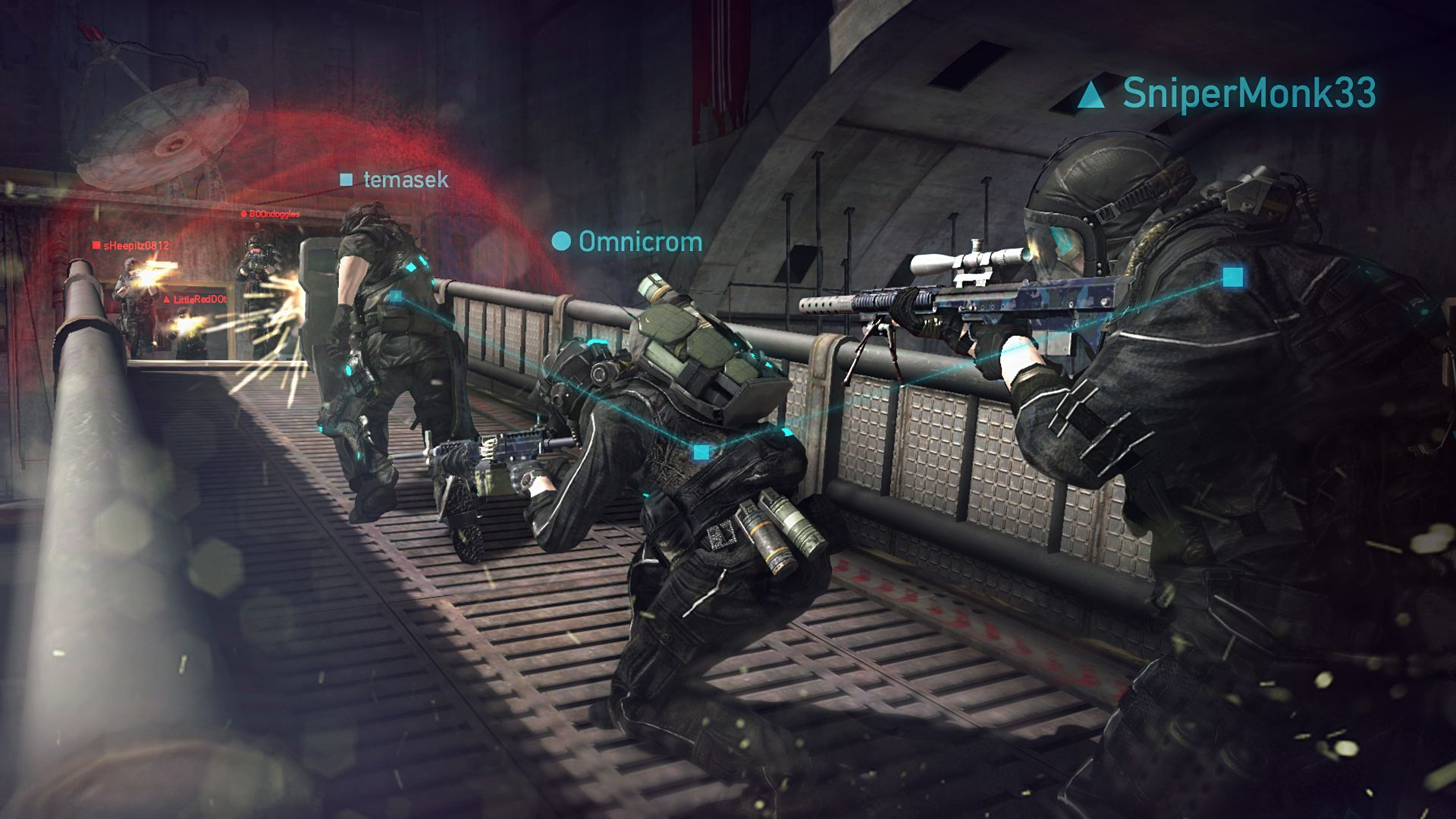 Video Game Tom Clancys Ghost Recon Phantoms Wallpaper