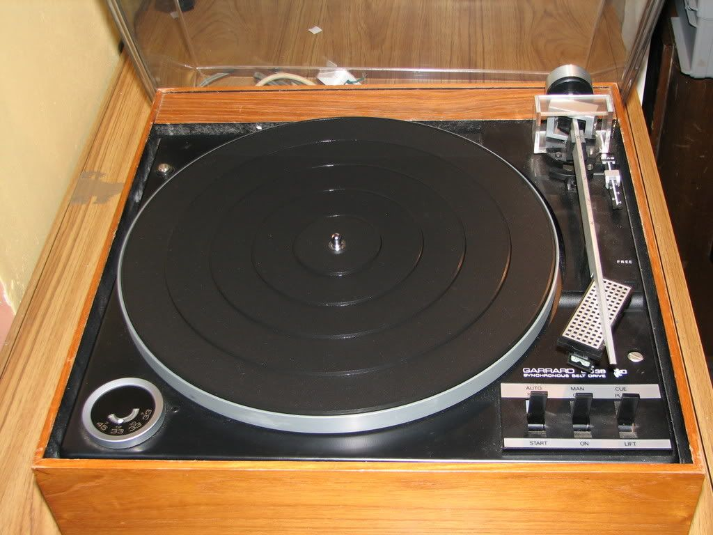 Garrard 86SB, My First Proper Turntable