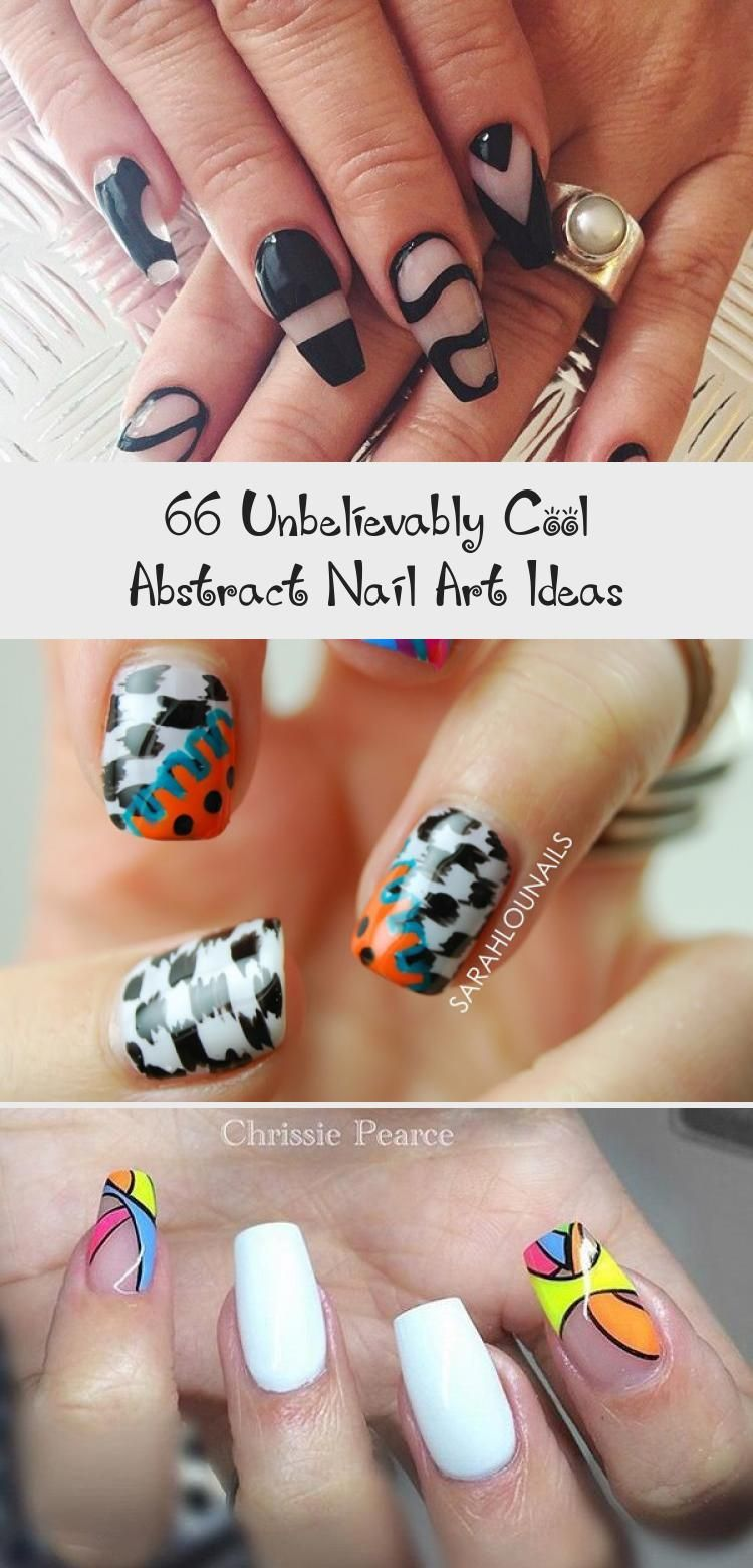 Photo of 66 Unbelievably Cool Abstract Nail Art Ideas – Nail Art
