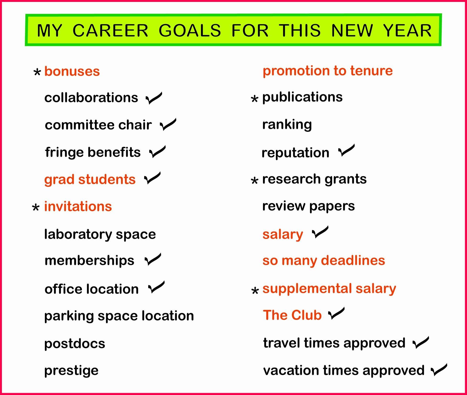 Example Career Goals Essay Fresh My Career Goals In 2020 Essay