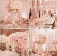 blush pink and gold wedding centerpieces - Google Search