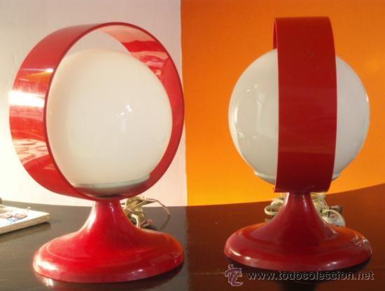 Pareja de lamparas vintage años 60. Quiero también!!!