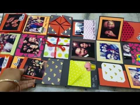 Infinity explosion box tutorial diy valentine s day