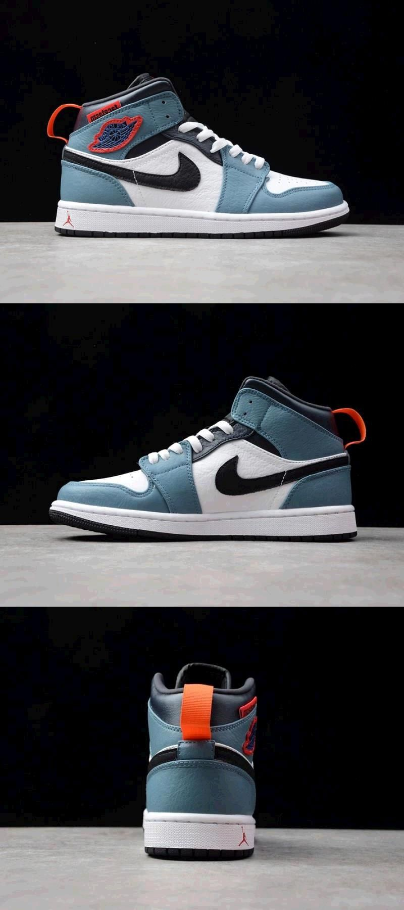 Air Jordan 1 Mid Fearless Facetasm CU2802100 in 2020
