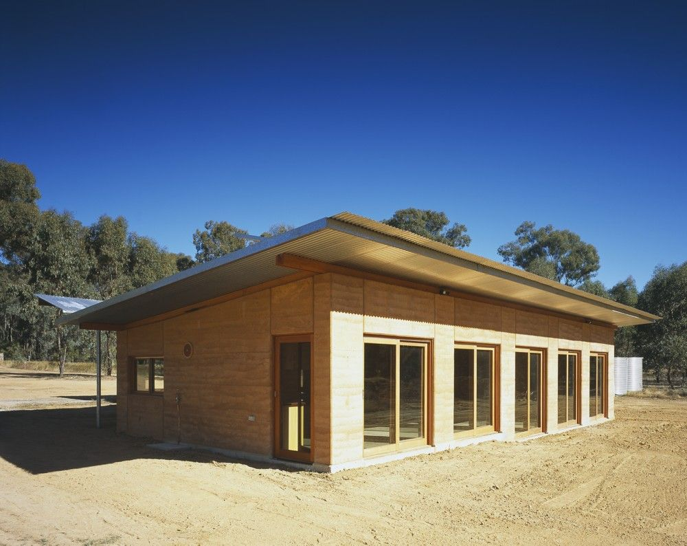 Rammed earth walls dural house pinterest rammed for Earthen home designs