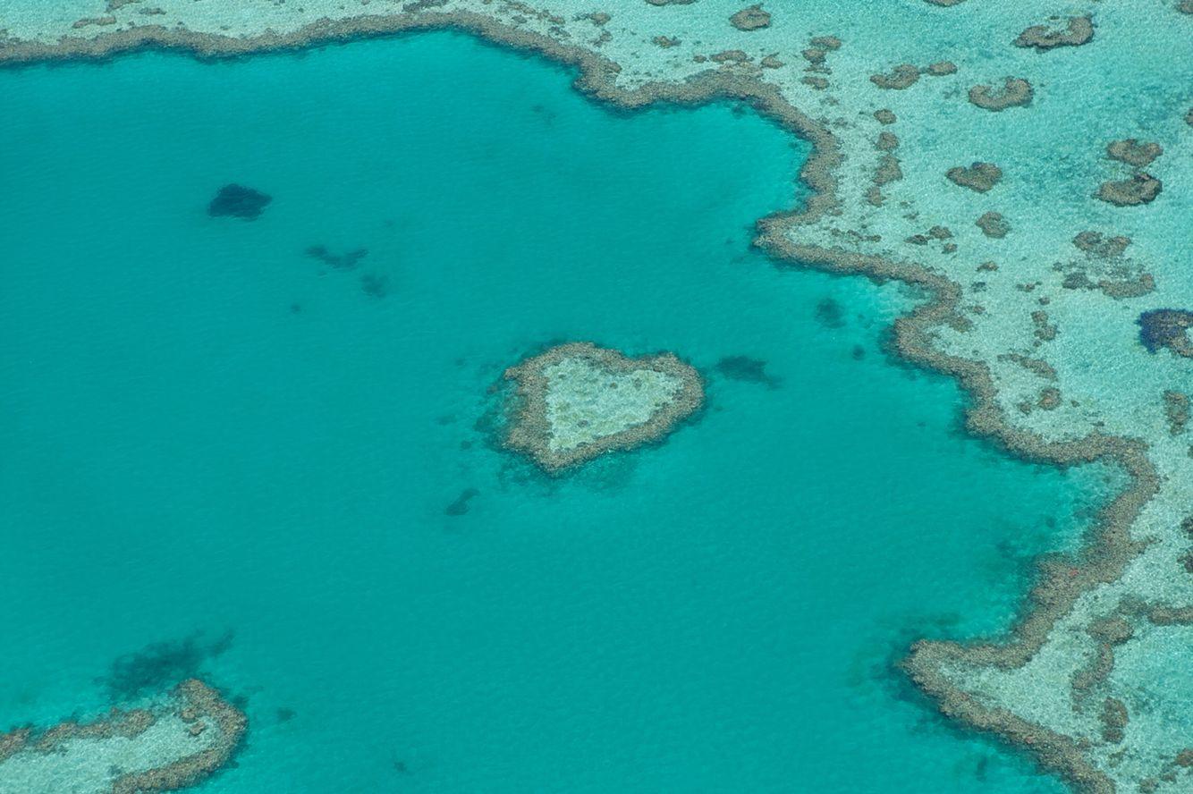 heart island in australia
