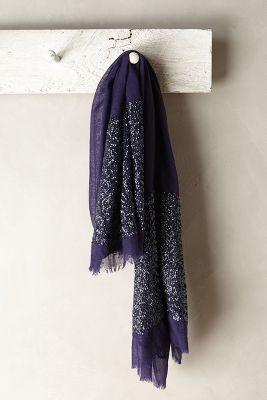 Anthropologie Glimmered Wool-Silk #Scarf #anthrofave #anthropologie